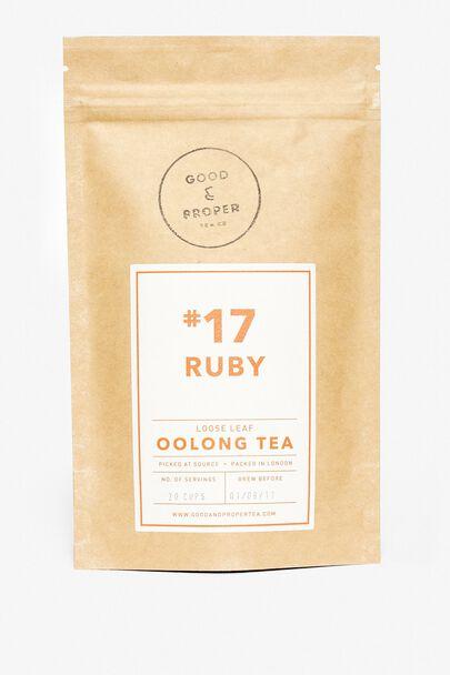 RUBY OOLONG TEA - GOOD & PROPER TEA