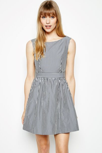 WENNEL BOW BACK DRESS