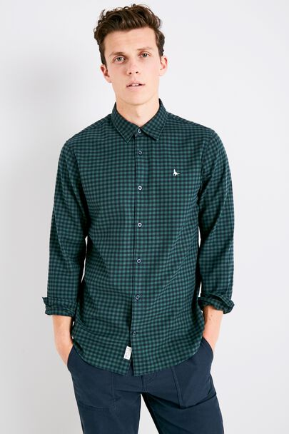 SALCOMBE FLANNEL GINGHAM SHIRT