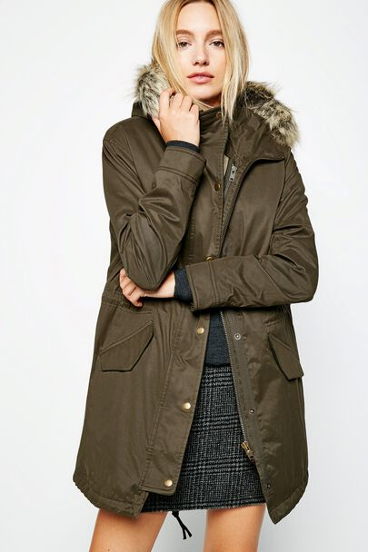 BEECHINGSTOKE SHERPA LINED PARKA