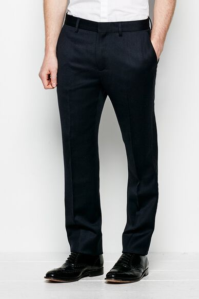 GRATELEY SLIM TAILORED TROUSER NAVY