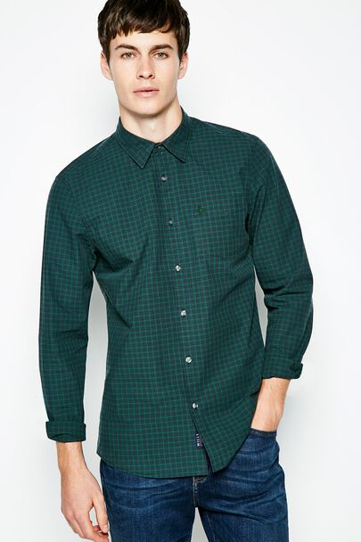 SALCOMBE POPLIN CHECK  SHIRT