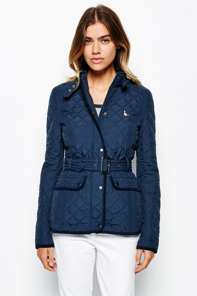 ELINGTON BELTED QUILTED JACKET