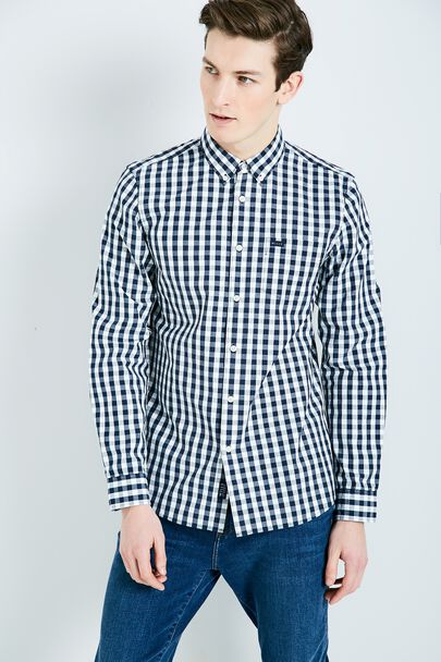 BLANFORD POPLIN GINGHAM SHIRT