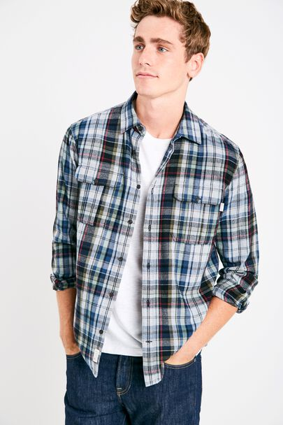DUNDRY MW FLANNEL OVERSHIRT