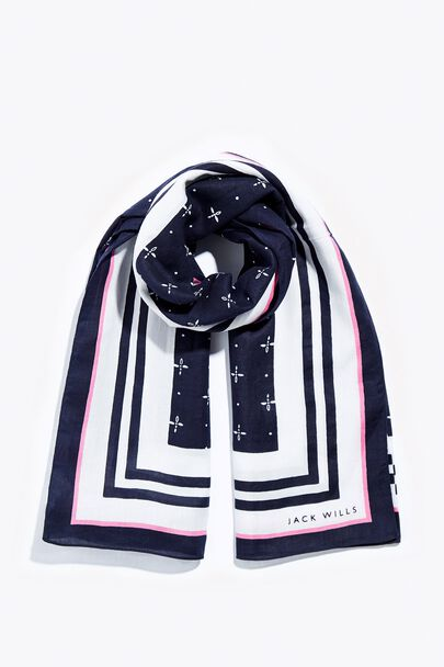 AILVEY SQUARE SCARF
