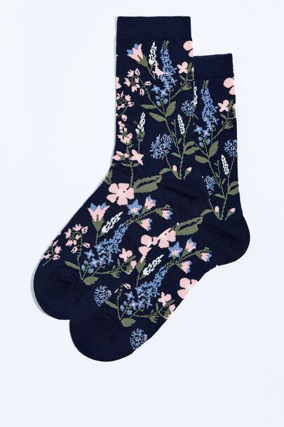 HEDGEFIELD SINGLE JACQUARD SOCK