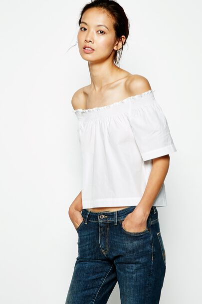ASKETT OFF SHOULDER TOP