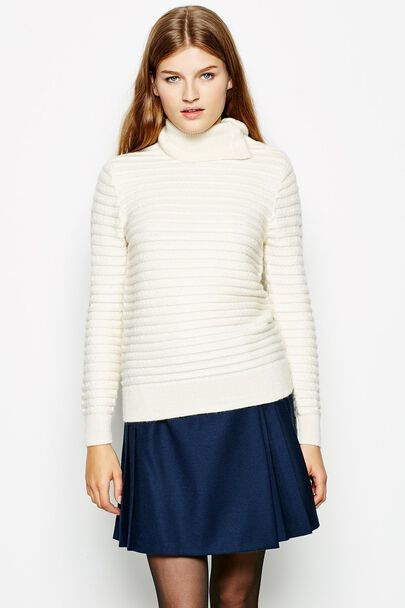 COLTMAN STITCH FUNNEL NECK JUMPER