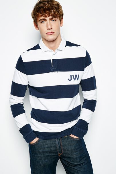 ELINGTON STRIPED RUGBY SHIRT
