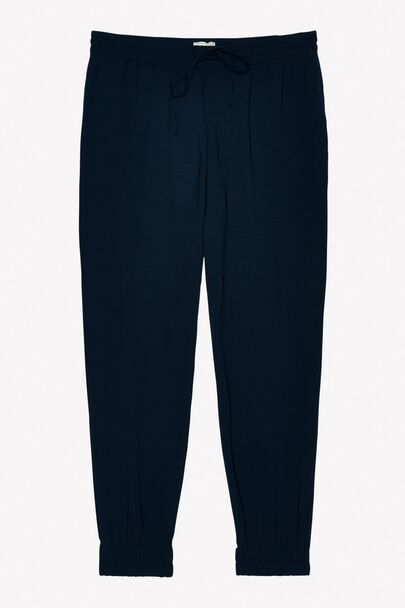 CHILLWORTH VISCOSE CREPE SLOUCHY PANT