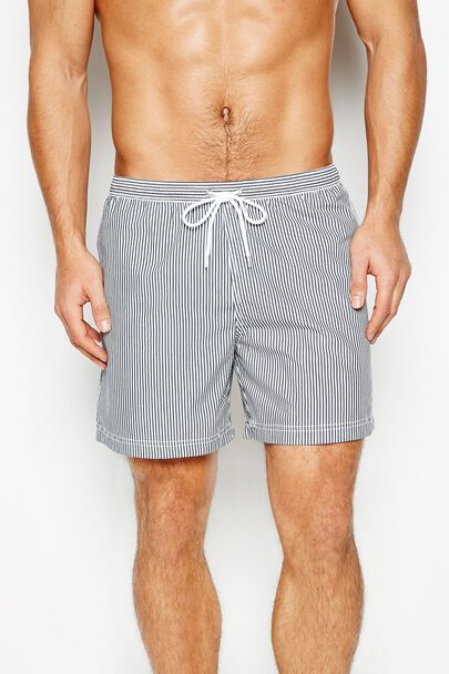 BRANWELL STRIPE SWIM SHORT