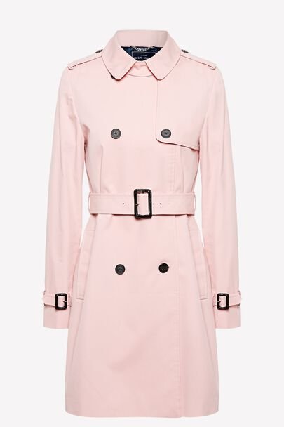 DUNCOMBE TRENCH COATDUNCOMBE TRENCH COAT ROSE