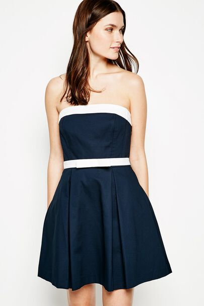 TODMORDEN BANDEAU DRESS