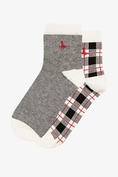 PULLBOROUGH 2 PACK SOCKS