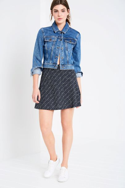 ALLERCOMBE JERSEY SKIRT