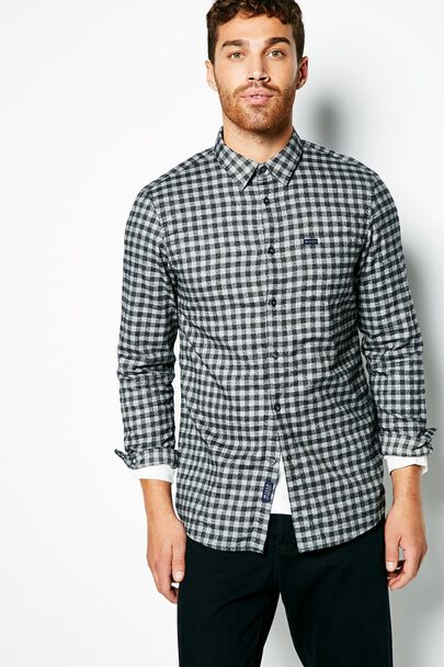 TIDENHAM FLANNEL GINGHAM  SHIRT