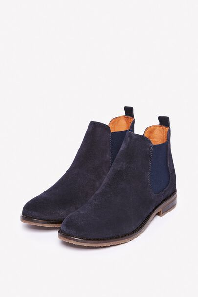 Innovative Barker Chelsea Boot Style Alexandra Navy Suede Womens Boots