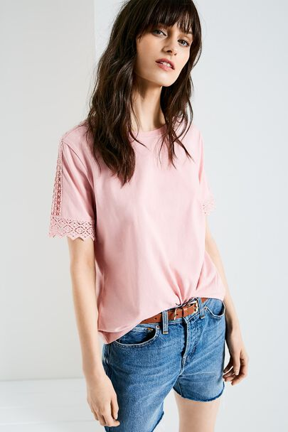 BREIGHTON LACE T-SHIRT