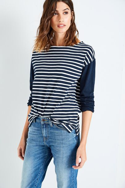 CHICHELEY OVERSIZED BRETON TOP