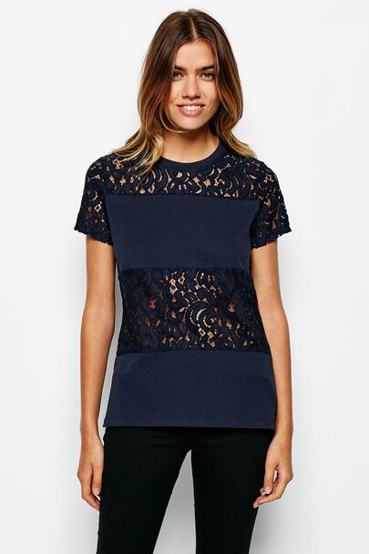 HEARDEN LACE T-SHIRT