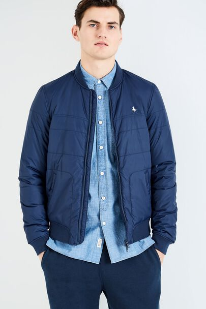 WAVELL QUILTED NYLON BOMBER