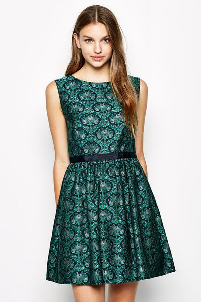 STROOD JACQUARD DRESS