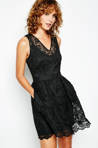AMY FINE LACE DRESS