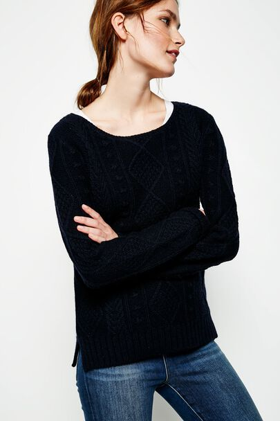 HEATHCLIFFE BOAT NECK JUMPER