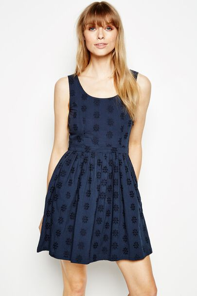 ALSTONFIELD BRODERIE ANGLAISE DRESS