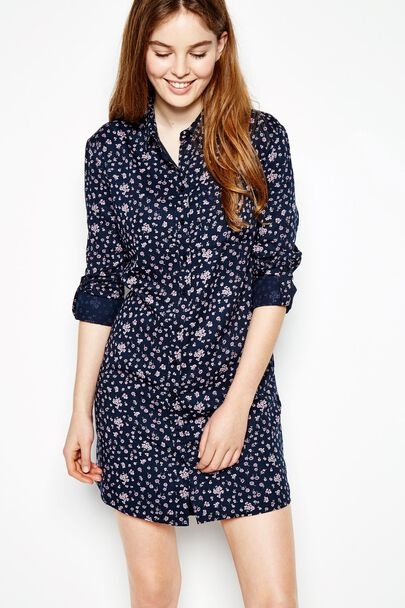 MAGGIE OVERSIZED SHIRT DRESS