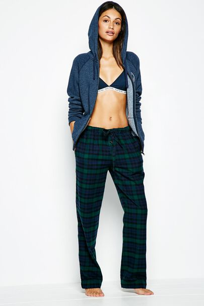 FRETHERNE CHECK LOUNGEPANTSFRETHERNE CHECK LOUNGEPANTS GREEN