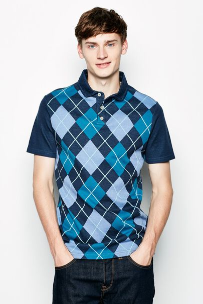 MONTAGUE JACQUARD POLO SHIRT