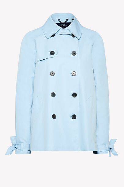 DOLLYHILL SWING TRENCH COATDOLLYHILL SWING TRENCH COAT PALE BLUE