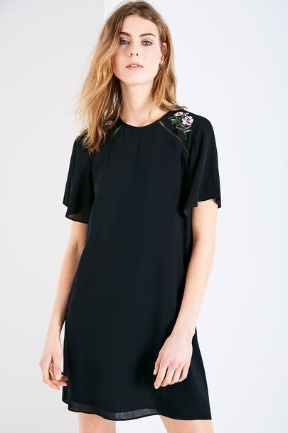 ELSBETH EMBROIDERED DRESS