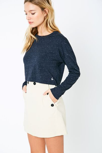 ANSTREE JERSEY CROP TOP