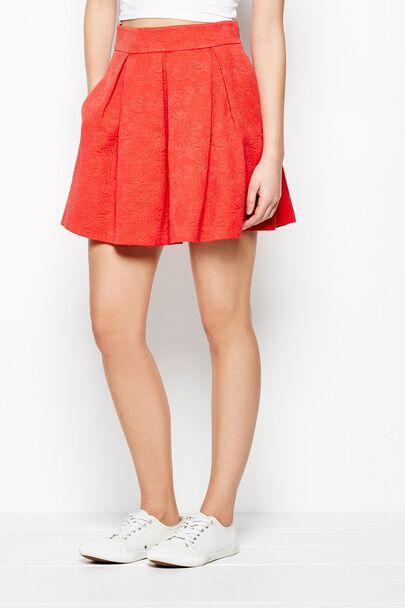 ASTERTON DAISY JACQUARD SKIRT