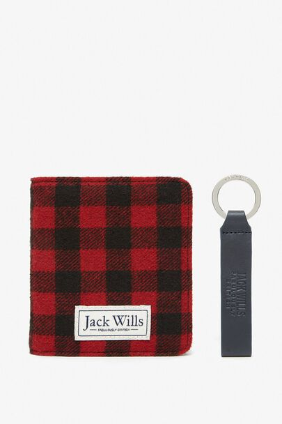BURMARSH WALLET & KEYRING SET