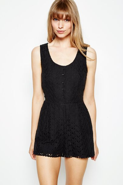 URLINGFORD LACE PLAYSUIT