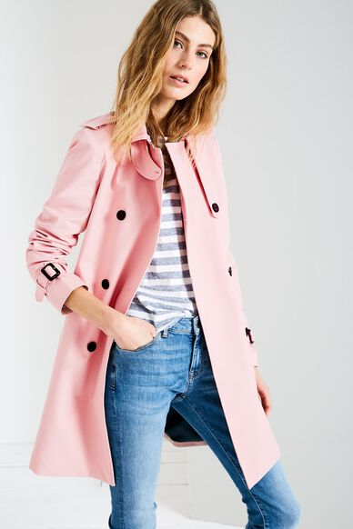 DUNCOMBE TRENCH COAT ROSE