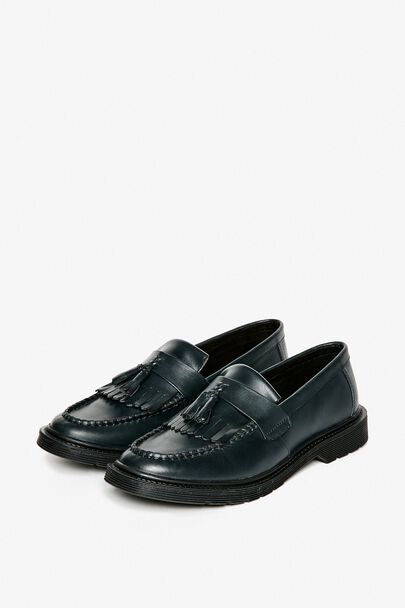 LONDOW LEATHER PENNY LOAFERS