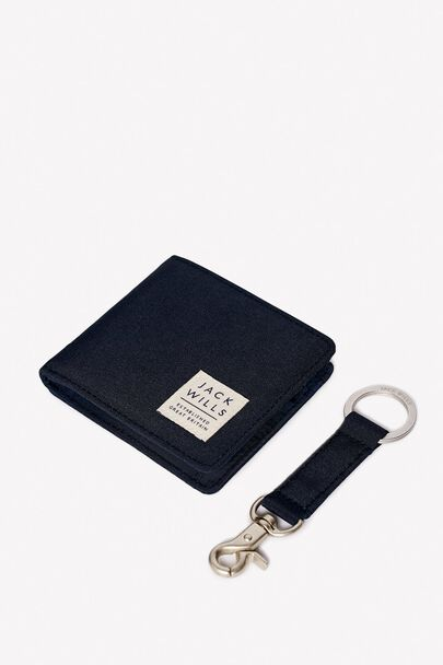 BURMARSH WALLET AND KEY RING SET