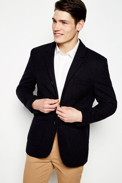 MELTON  BLAZER JACKET