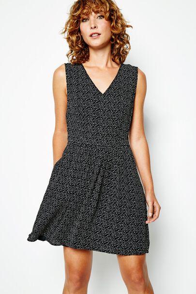 AMY CLOUD PRINT DRESS