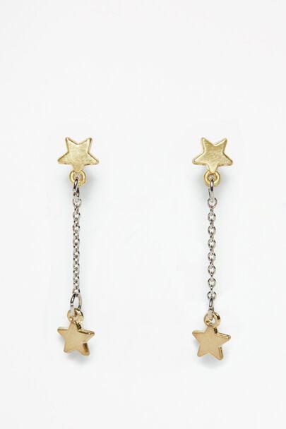 SUNDERLAND STAR DROP EARRINGS