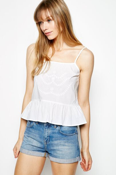 TIDMINGTON EMBROIDERED CAMI