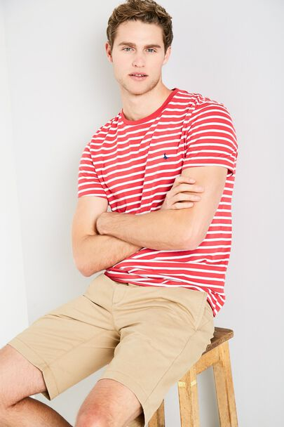 SANDLEFORD STRIPE T-SHIRT