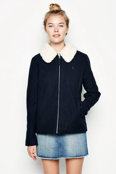 SELBOURNE WOOL BOMBER JACKET