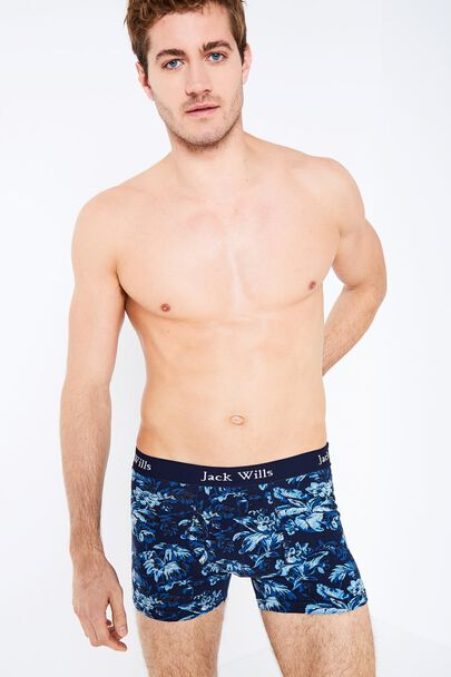 BRIDGENORTH FLORAL PRINT BOXER SHORTS