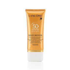 Soleil Bronzer SPF50 Crème Protectrice Lissante et Rafraichaîssante Visage - Crème Solaire - LANCÔME